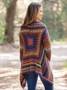 Crochet Clothing Patterns - ANNIE'S SIGNATURE DESIGNS: Euphoria Cardi Crochet Pattern