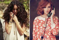 brunette and ginger curls medium length Sexy Curls, Short Curls, Big Curls, Short Curly Hair, Wavy Hair, Curly Hair Styles, Curls Hair, Short Waves, Curly Girl