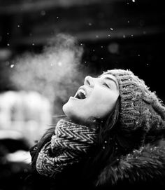 For allergy sufferers, winter air is often the freshest, cleanest air (if you're blessed to live away from city smog and laundromats!)