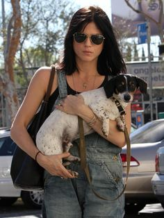 selma blair's dog