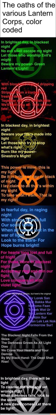 Lantern Oaths
