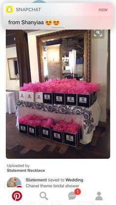 Pink bridal shower theme coco chanel Ideas for 2019 Chanel Birthday Party, Chanel Party, 50th Birthday Party, Birthday Ideas, Chanel Bridal Shower, Chanel Decor, Coco Chanel, Paris Party, Paris Theme