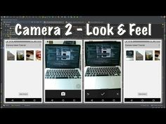 How to use android camera2 api's - Part 1. This is the start of the tutorial series on how to create an android camera application using the android camera2 api's. Part 1 focuses on the look and feel of the app. It shows how to set up a horizontal overlap gallery and how to create a TextureView which will be used as a preview display.