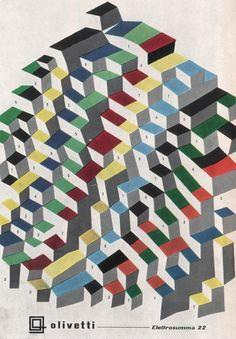 Giovanni Pintori — Olivetti — 1950's Italian Graphic Design