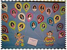 Preschool Classroom, Preschool Crafts, Classroom Decor, Kindergarten, Preschool Ideas, Circus Bulletin Boards, School Bulletin Boards, School Library Displays, Birthday Wall