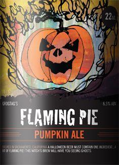 Flaming Pie Pumpkin Ale.