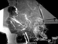 Herman Leonard     Sonny Stitt, New York City      1953