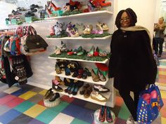 Image result for WHOOPI GOLDBERG SHOE COLLECTION