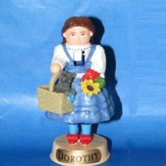 Wizard of Oz Dorothy Miniature Nutcracker by Kurt Adler. $6.05. 4 inches tall. Made in China exclusively for Kurt Adler. Resin molded. Part of the Wizard of Oz Miniature Nutcracker series from Kurt Adler, this nutcracker features the Dorothy with her little dog Toto. She's not in Kansas anymore! Just one of our many Wizard of Oz nutcrackers. Product Specifications:. Save 53% Off!