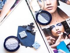 """Spring 2016 Trend Report: """"Return of the Blue"""". Get the look with Blueberry Longwear Eyeshadow. 2016 Trends, Spring Trends, Eyeshadow Makeup, Spring 2016, Get The Look, Blueberry, Check, Beauty, Finland"""
