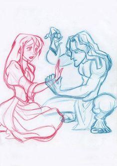 Tarzan & Jane Porter (Tarzan)
