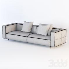 3d модели: Диваны - Sofa CORTINA