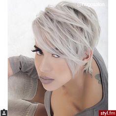Die Haare brauchen nicht immer hochzustehen oder rasiert zu sein …. wunderschöne Kurzhaarfrisuren! - Neue Frisur