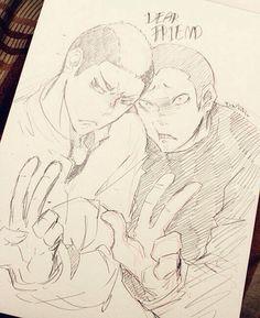 Yamamoto Taketora & Tanaka Ryuunosuke | Haikyuu!! #anime