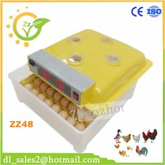 Hot sale! ZZ48 automatic egg incubator for bird turkey goose duck and so on high hatching rate family type