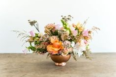Wildly Pretty: Medium Table Arrangement - Adore Weddings Table Arrangements, Floral Arrangements, Media Table, Flower Vases, Flowers, Romantic, Table Decorations, Weddings, Medium