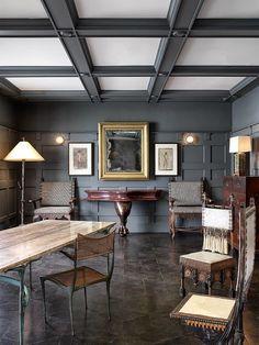 Paint and ceiling de