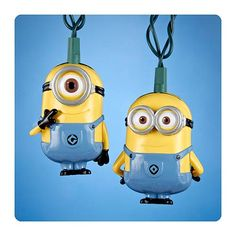Who could resist these?  --  Despicable Me Minions Christmas Lights