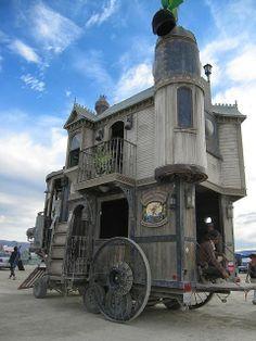 Tiny Steampunk House