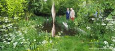 The Savills and David Harber Garden, at the RHS Chelsea Flower Show - Pumpkin Beth