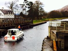 Southern end of Caledonian Canal, near Fort William