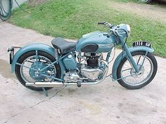 1950 Triumph | motorcycles | vintage | classic