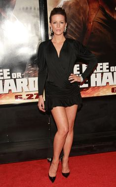 "Kate Beckinsale - Premiere Of Die Hard 4.0 - ""Live Free Or Die Hard"""