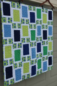 Millions of Thoughts: Urban baby boy Quilt