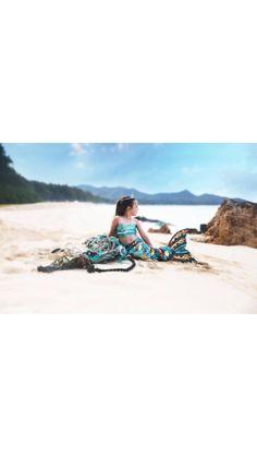 ddbc923207e Mermaid on the beach Evie Allyn Photography