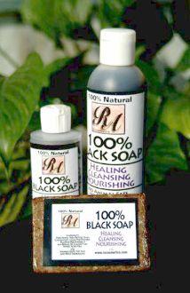 Black Liquid Soap 8oz