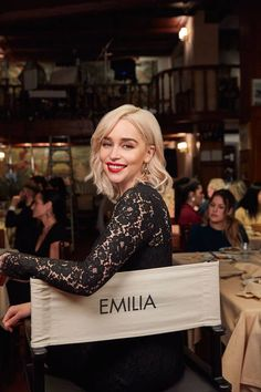 On Beauty: Emilia Clarke - - The Game Of Thrones actress shares her beauty secrets with Vogue. English Actresses, British Actresses, Actors & Actresses, Hispanic Actresses, Brunette Actresses, Black Actresses, Young Actresses, Female Actresses, Pretty People