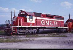 RailPictures.Net Photo: GM&O 911 Gulf, Mobile & Ohio EMD SD40 at Birmingham, Alabama by David Harris