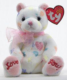 Mom-e - bear - Ty Beanie Babies Beanie Baby Bears, Ty Beanie Boos, Ty Bears, Ty Plush, Ty Babies, Ty Toys, Original Beanie Babies, Cute Beanies, Beanie Buddies