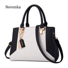 Nevenka Women Handbag PU Leather Bag Zipper Crossbody Bags Lady Bag High Quality Original Design Handbags Top-Handle Bags Tote