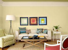 Warm Green Living Room Colors warm sage green living room with rusty orange. see website for