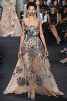 Elie Saab | Haute Couture | Fall 2016 Model:... - welcome in the world of fashion