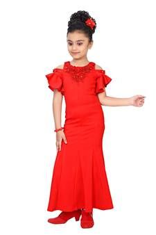Page 2 of Kids Kids Dress Collection, Kids Gown, Gowns For Girls, Kids Girls, Stylish, Red, Cotton, Baby, Beautiful