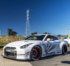 One of those Liberty Walk GTR wide body things.  #libertywalk #kindacool #kindasilly
