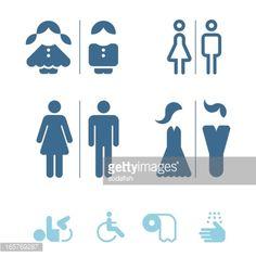 公衆トイレのアイコン