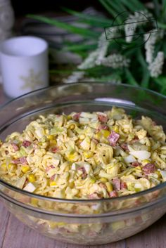 Polish Recipes, Food Inspiration, Pasta Salad, Quinoa, Potato Salad, Lunch Box, Tasty, Yummy Yummy, Food And Drink