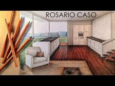 Manual Rendering / Architecture Interior - Speed Drawing - YouTube