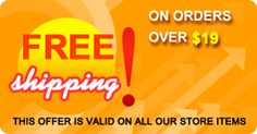 || HOT RAINY SALE || || HOT RAINY SALE || || HOT RAINY SALE || FREE Shipping on all order over $19 or more! This offer is valid on all our store items.