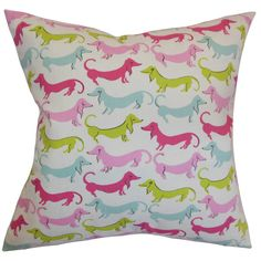 Long Dog Pillow in Bubblegum