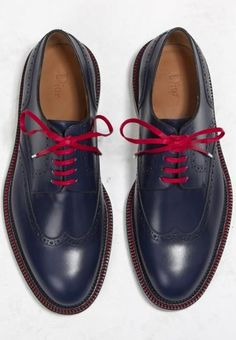 Dior Homme designer Kris Van Assche came up with a youthful punk take on the dress shoe