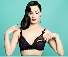 Dita Von Teese's Controversial Lingerie Is Actually Maternity