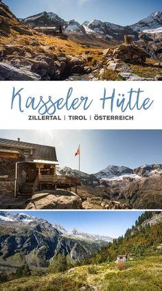 Wanderung zur Kasseler Hütte, Zillertal, Österreich, Tirol, Austria
