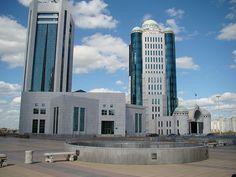 Kazakh Parliament Astana - Kazakhstan - Wiki