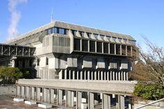 Arthur Erickson / Geoffrey Massey: Simon Fraser University - #SOSBRUTALISM