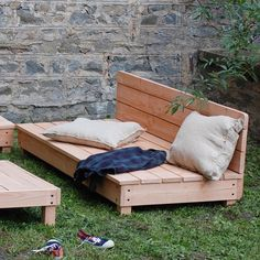 Coin Banquette, Banquette Palette, Garden Seating, Outdoor Furniture, Outdoor Decor, Coq, Home Improvement, Exterior, Camping