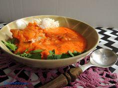 Moje Małe Czarowanie: Pomidorowe rybne curry